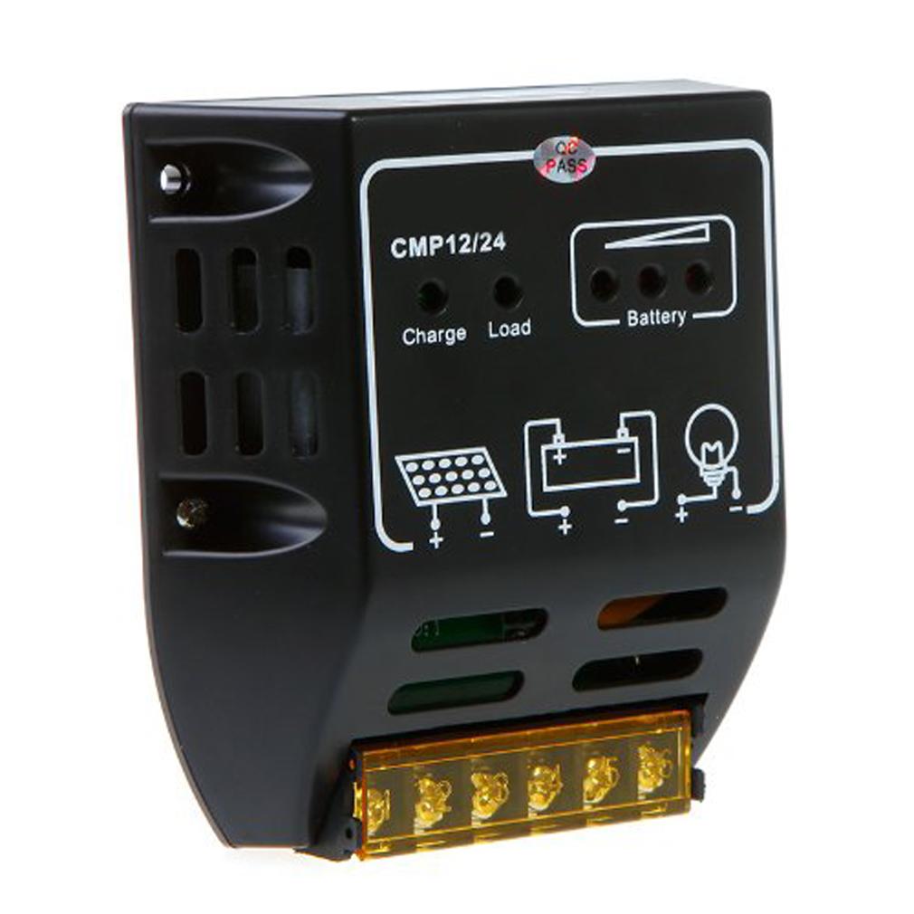 FS Wholesale 10A 12V/24V Solar Charge Controller Regulator <br><br>Aliexpress