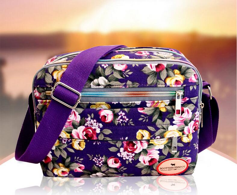 Hot Flower bags!New Lady's lady Outdoor Casual shopping one-Shoulder&Crossbody bags fresh carved one-shoulder cross Sport bags(China (Mainland))