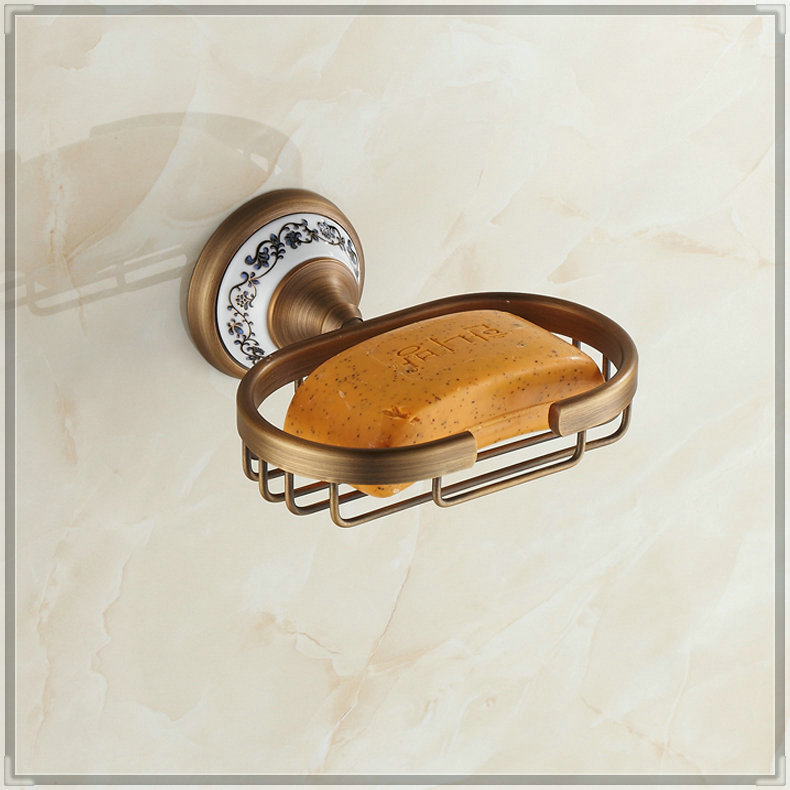 copper new rushed soap box soap dish porcelain dishes european-style wash tub(China (Mainland))