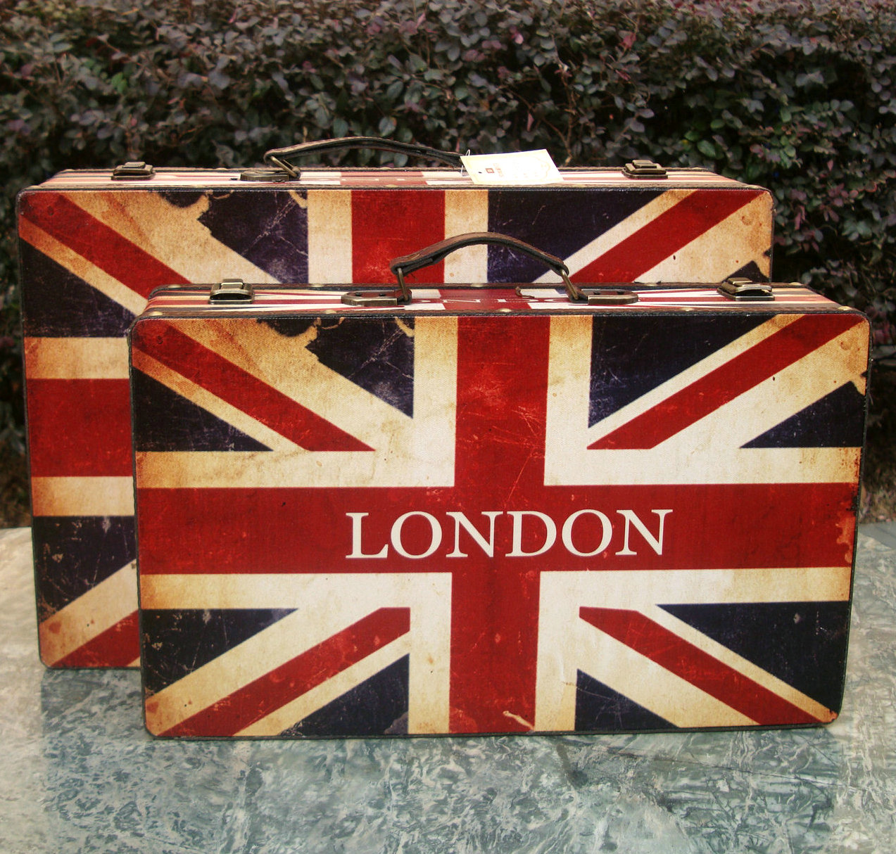 Vintage Luggage Storage Boxes | Luggage And Suitcases