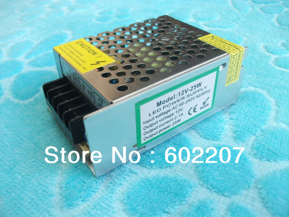 Constant current LED transformer 12V 36W driver(China (Mainland))