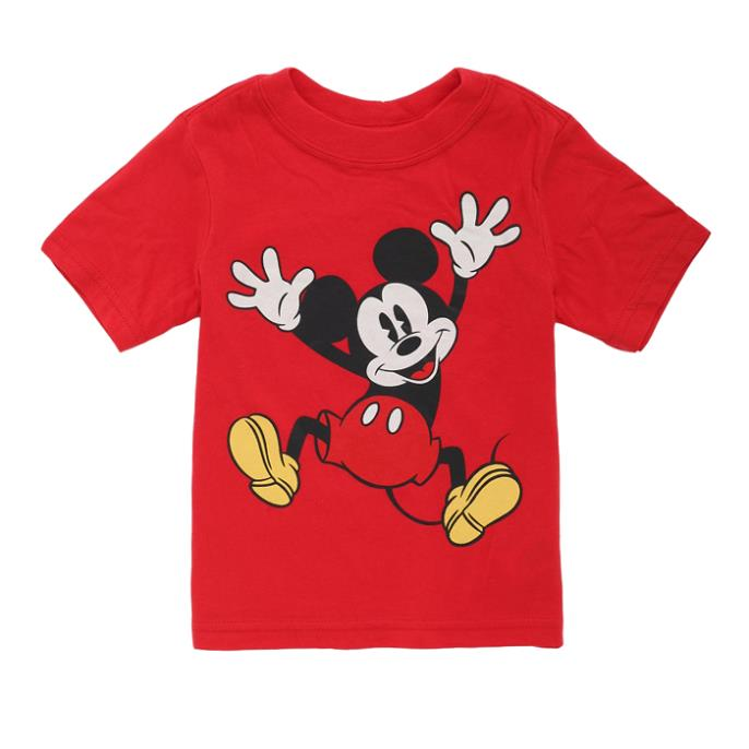 Baby T shirt Boys Girls Summer Cute Cartoon Cotton Short Sleeve Tees Clothing Tops Candy Color Infant Clothes - Babys Paradise store