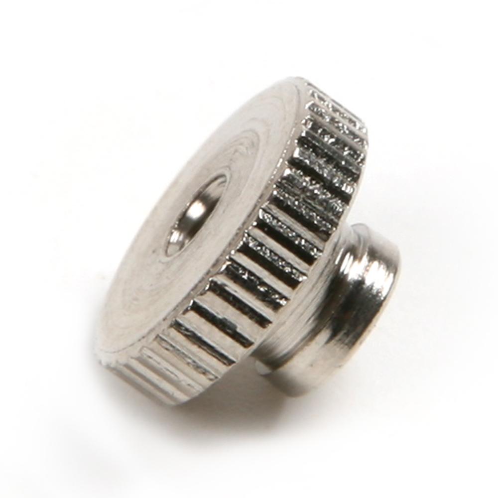 6pcs M3 Steel Nuts Heating Bed Adjustment Screw Nut for Reprap Prusa 3D Printer(China (Mainland))