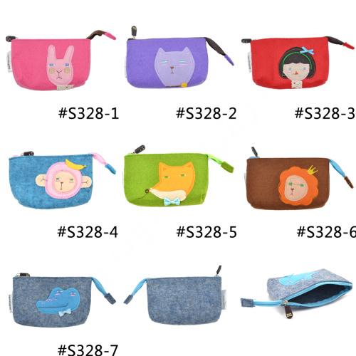 Wholesale New Fashion Cute Cartoon Animal Print Felt Women Girl ...