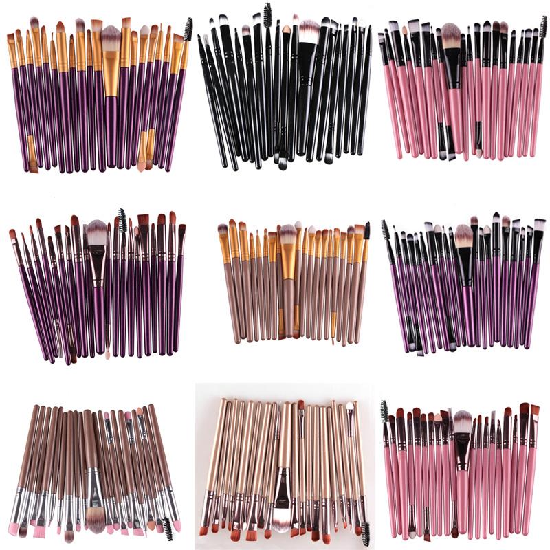 Makeup brushes 20 pcs Superior Professional Soft Cosmetics make up brush set Woman's pincel kabuki kit maquiagem makeup brushes