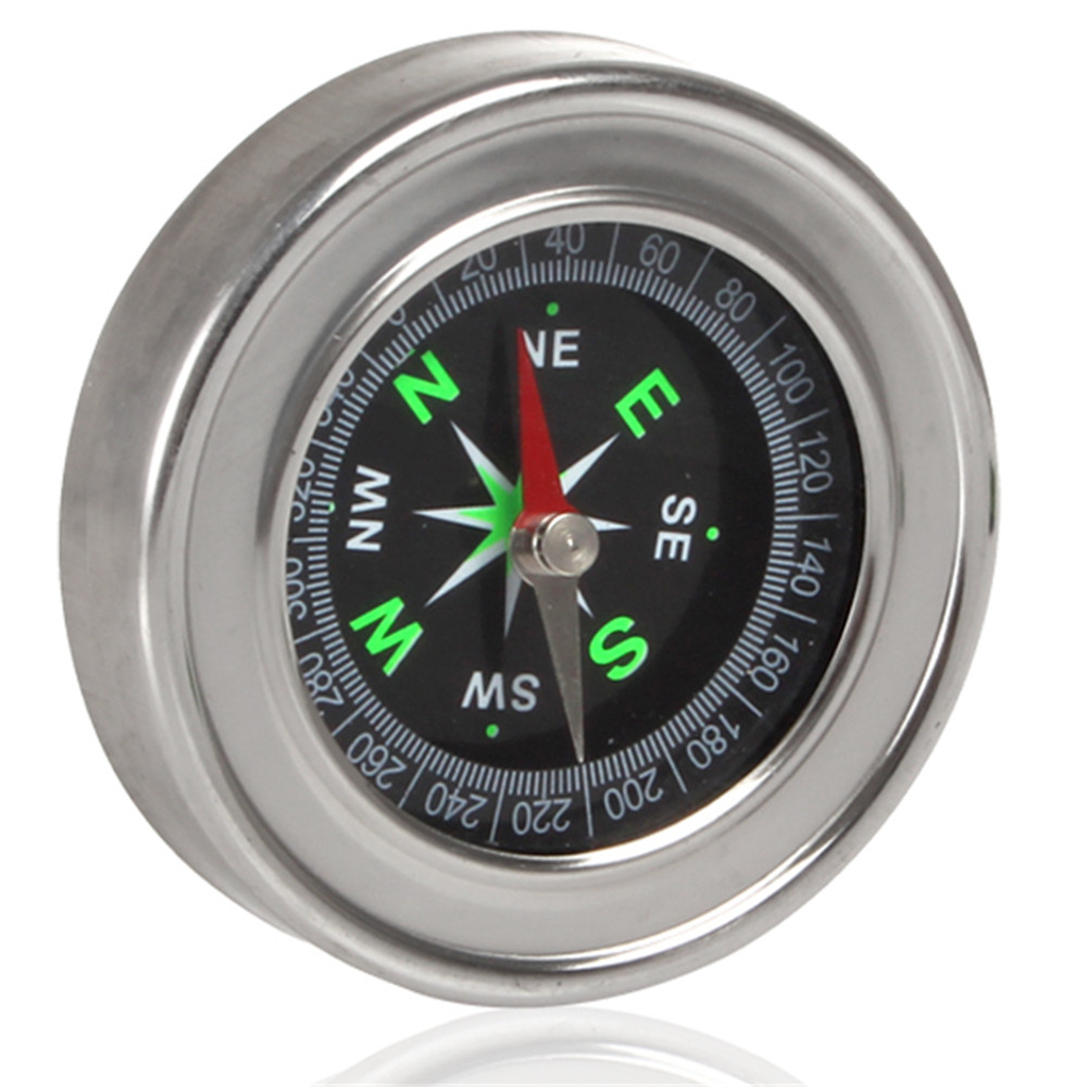 60 mm Stainless Steel Metal Compass for both Outdoor and Home Sturdy and Durable(China (Mainland))