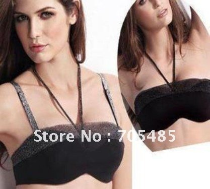 The new products, high-grade, silver design, wipe the chest type, gather together bra, insert