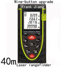 Telémetros distancia toor de mano láser 40 m láser infrarrojo instrumento de medición electrónica dispositivo envío gratis
