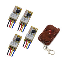 Buy DC3V 3.6V 3.7V 5V 6V 7.4V 9V 12V Micro Remote Control Switch Remote Controller Micro Relay Receiver Remote Switch 315/433Mhz for $19.37 in AliExpress store