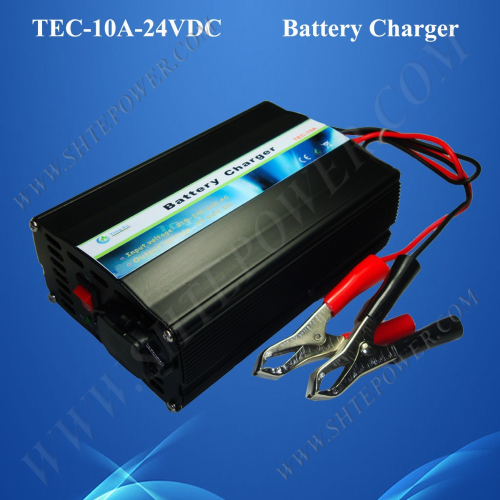 Lead Acid and Gel Battery Charger 24V 220V 10A(China (Mainland))