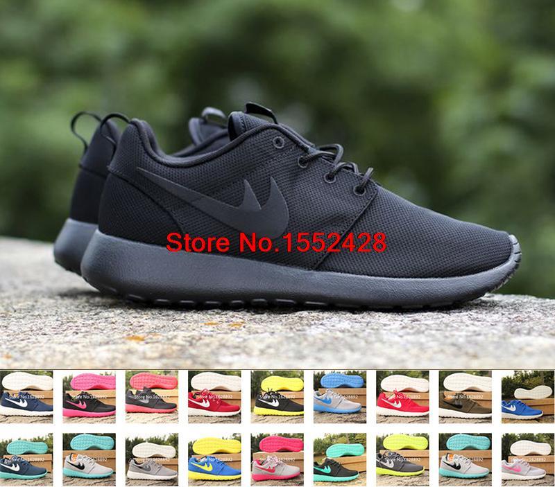 Free shipping 2015 new men women running shoes light breahtable brand roshe run shoes for London