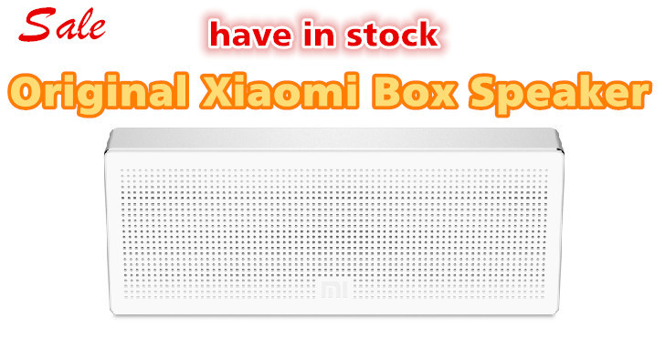 100% Original Xiaomi Wireless Portable Stereo Mini HiFi Bluetooth 4.0 Box Speaker Outdoor Subwoofer Loud speakers For iphone 6(China (Mainland))