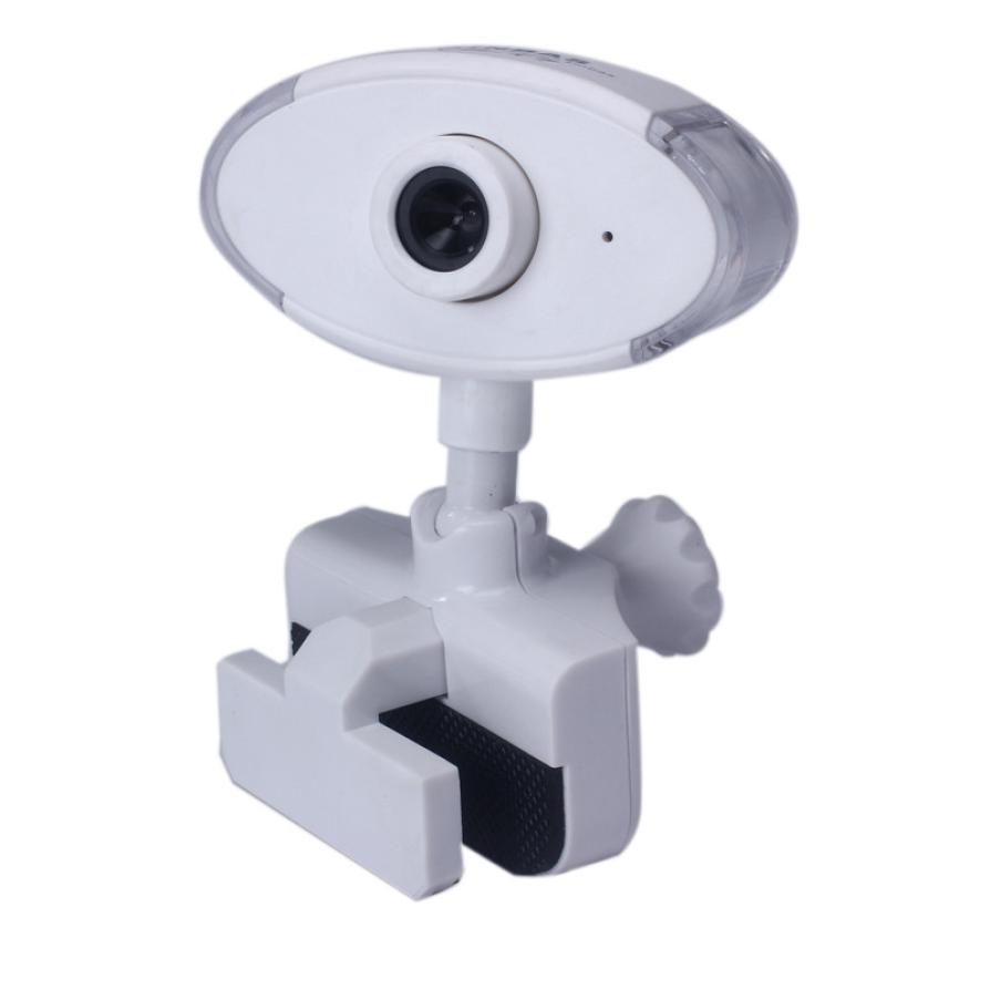 White Color USB 2.0 HD Webcam Web Cam Camera With Mic For Computer PC Laptop Desktop #05(China (Mainland))