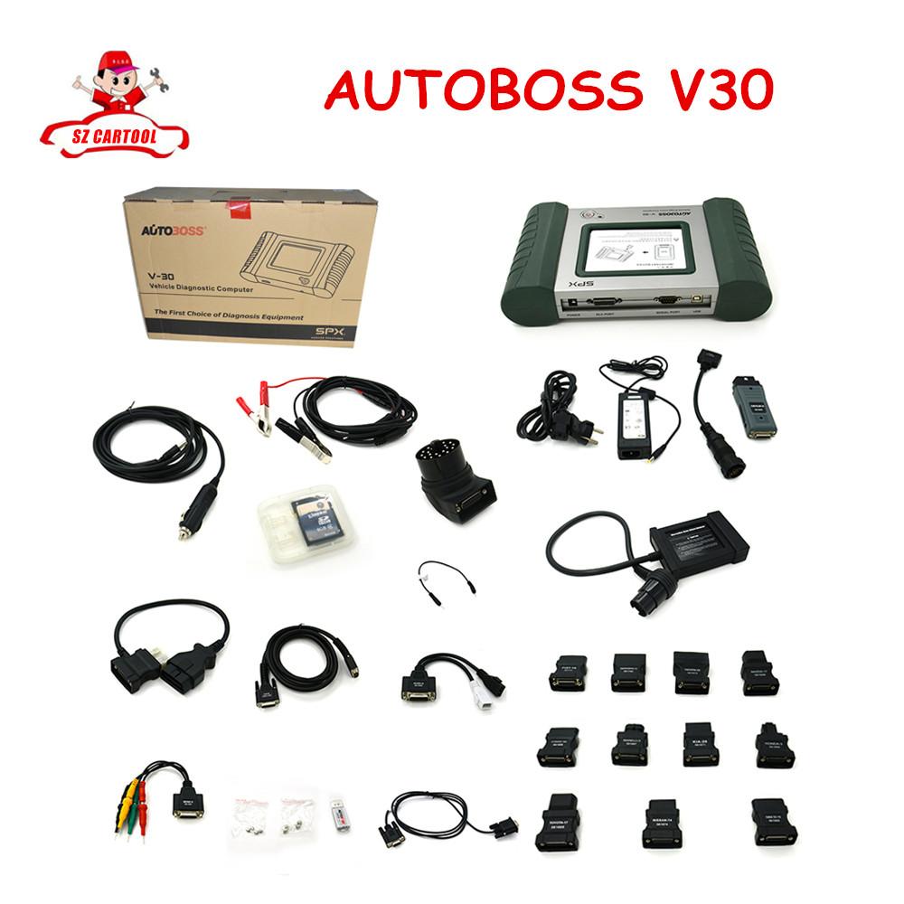 Original AUTOBOSS V30 Scanner Free AUTOBOSS V30 diagnosis scanner Update Online Free Shipping(China (Mainland))