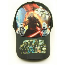 Cotton Star Wars The Force Awakens Cartoon Comics Animation Baseball Sport Cap Hat Adjustable for children Kids Boys Girls(China (Mainland))