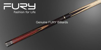 """Ash Shaft snooker cue /Rose wood Butt//57"""" stick+6"""" Extension/ 3/4  Billiard Cues/ FURY SN115"""