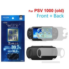 Full Housing Screen Protector Film Clear LCD Guard for Sony PS Vita PSV Film Screen Protector PSV1000 Version, 2Pcs FreeShipping(China (Mainland))