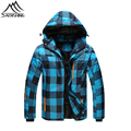 2016 Newest Winter Snow Ski Jacket For Men Thicken Thermal Snowboarding Jacket Waterproof Windproof Hooded Coats