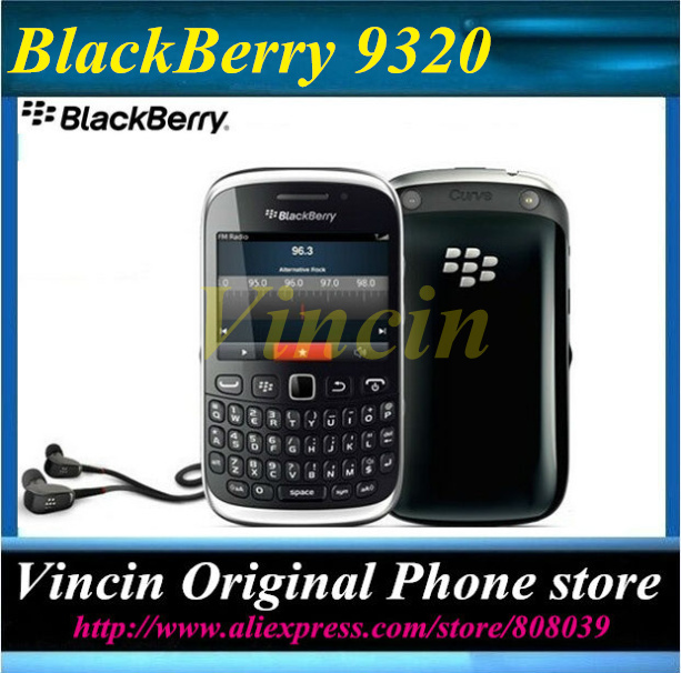 Unlocked BlackBerry Curve 9320 Original Mobile Phone GPS WIFI GSM 3G Phone Refurbished(China (Mainland))