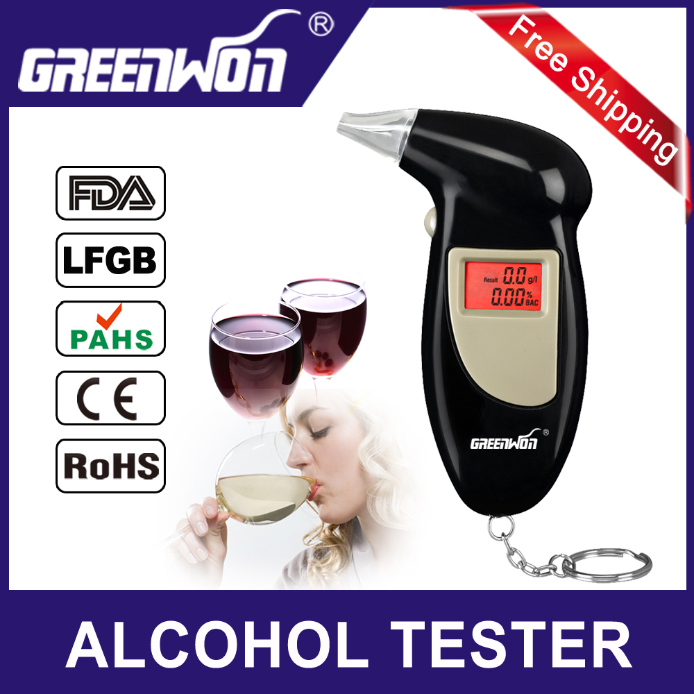 Factory outlets Key Chain Alcohol Tester, Digital Breathalyzer, Alcohol Breath Analyze Tester (0.19% BAC Max) , Wholesale(China (Mainland))