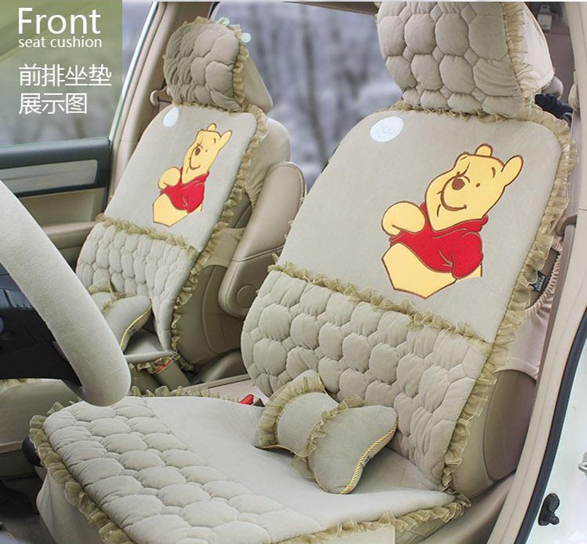2013 NEW! Winter Warm Plush Car Seat Cover Cushion General Car Mats 6 Styles For Choose STEERING WHEEL COVER as a gift<br><br>Aliexpress