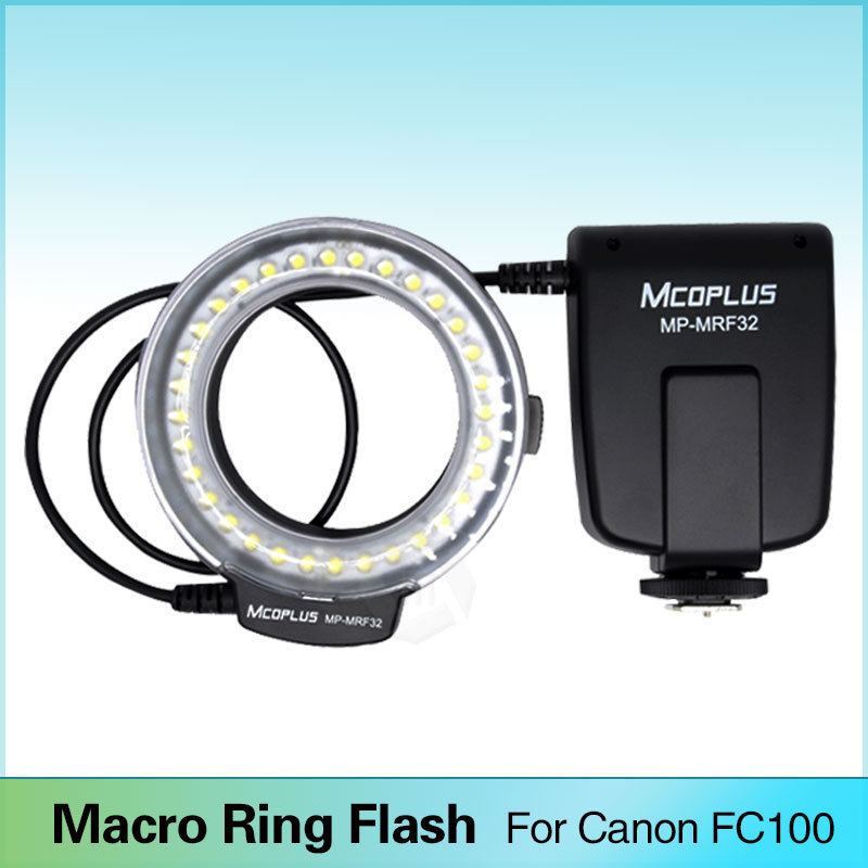 Meike FC 100 Macro Ring Flash Light for Canon EOS 600D 50D 60D 650D 700D 70D
