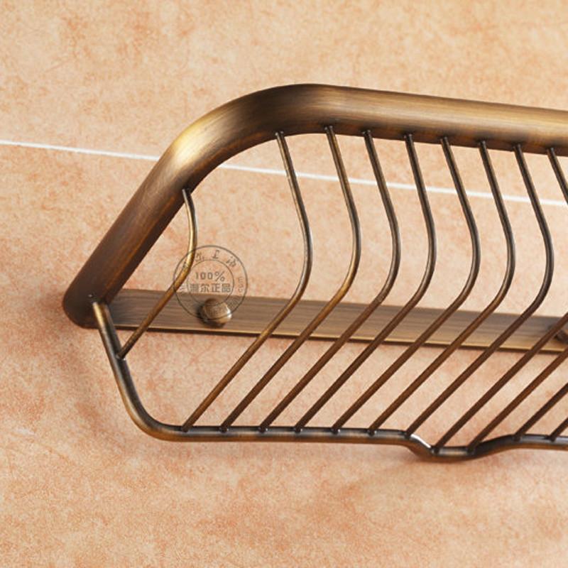 Купить Душ кэдди для ванны хранения уолл-ванной организатор стойку держатель для полотенец антикварные латунь готовые