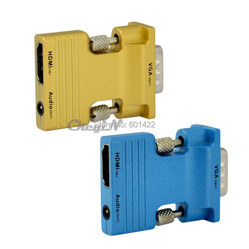 1080P HDMI Female VGA Male HD Cable Converter Adapter Audio - RedStar Digital Co., Ltd. store