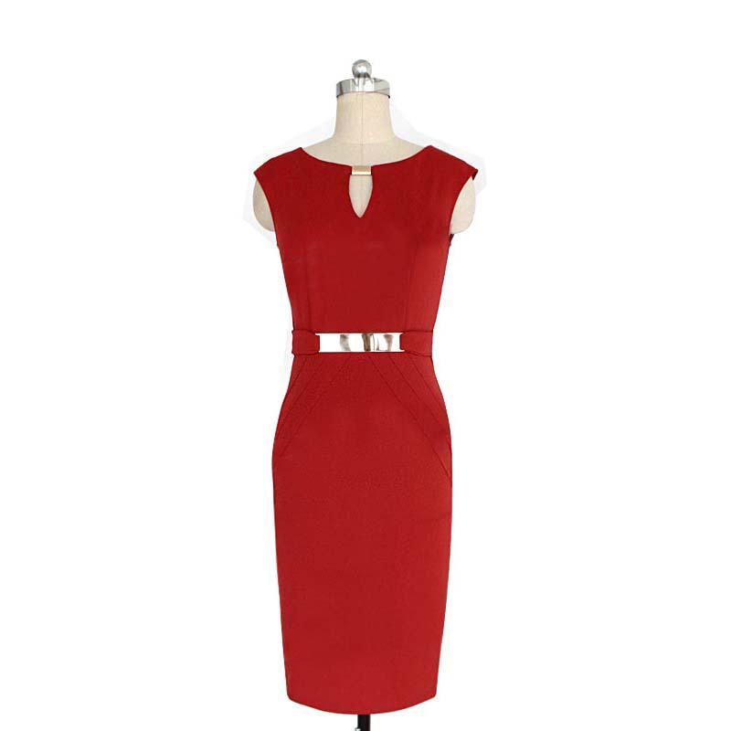 2015 Summer Solid Color Ladies Dresses Temperament High Waist Bodycon Dress Linen V-Neck Cocktail Pencil Bodycon Dress Z225(China (Mainland))