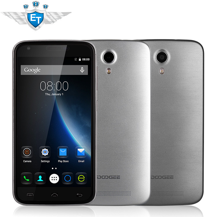 """Original Doogee Valencia 2 Y100 Pro 4G LTE Cell Phone Android 5.1 MTK6735 Quad Core 5.0"""" IPS 1280x720 2GB RAM 16GB ROM 13.0MP(China (Mainland))"""