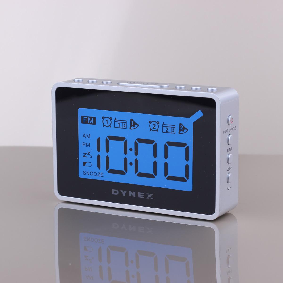 buy led digital alarm clock radio with. Black Bedroom Furniture Sets. Home Design Ideas