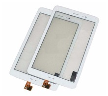 For Huawei Mediapad T1 3G S8-701u Touch Screen Panel Digitizer Glass Lens Sensor Repair Replacement Parts + Tracking Number(China (Mainland))