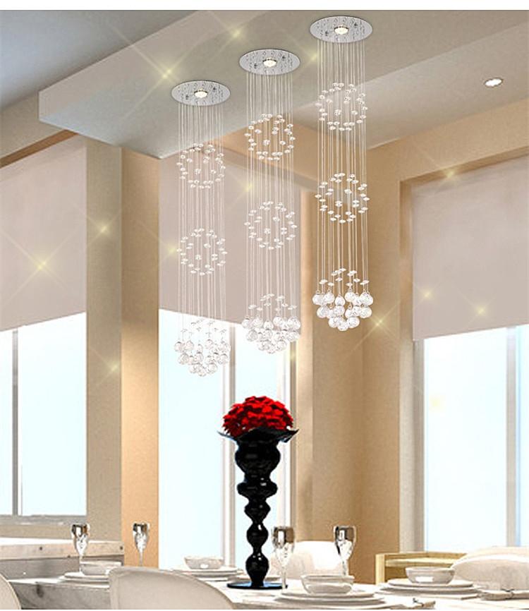 best selling modern simple Spiral crystal ceiling chandelier lights 0106<br><br>Aliexpress