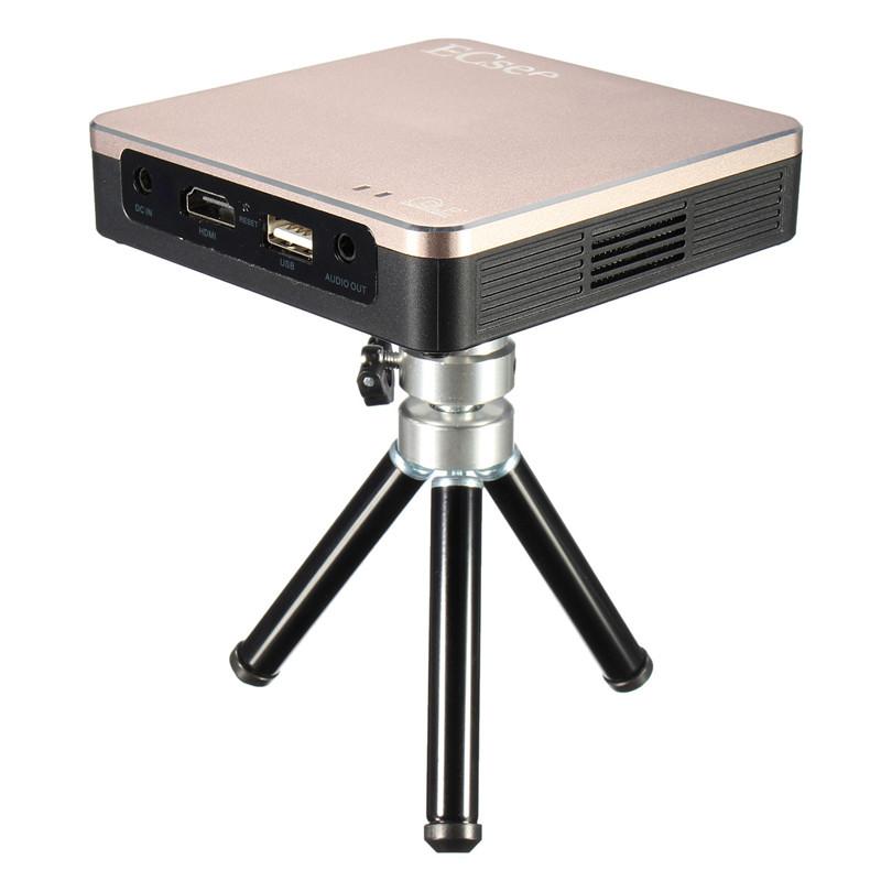 Ecsee es135 dlp 854 480dpi led mini wireless wifi phone for Mini wifi projector review