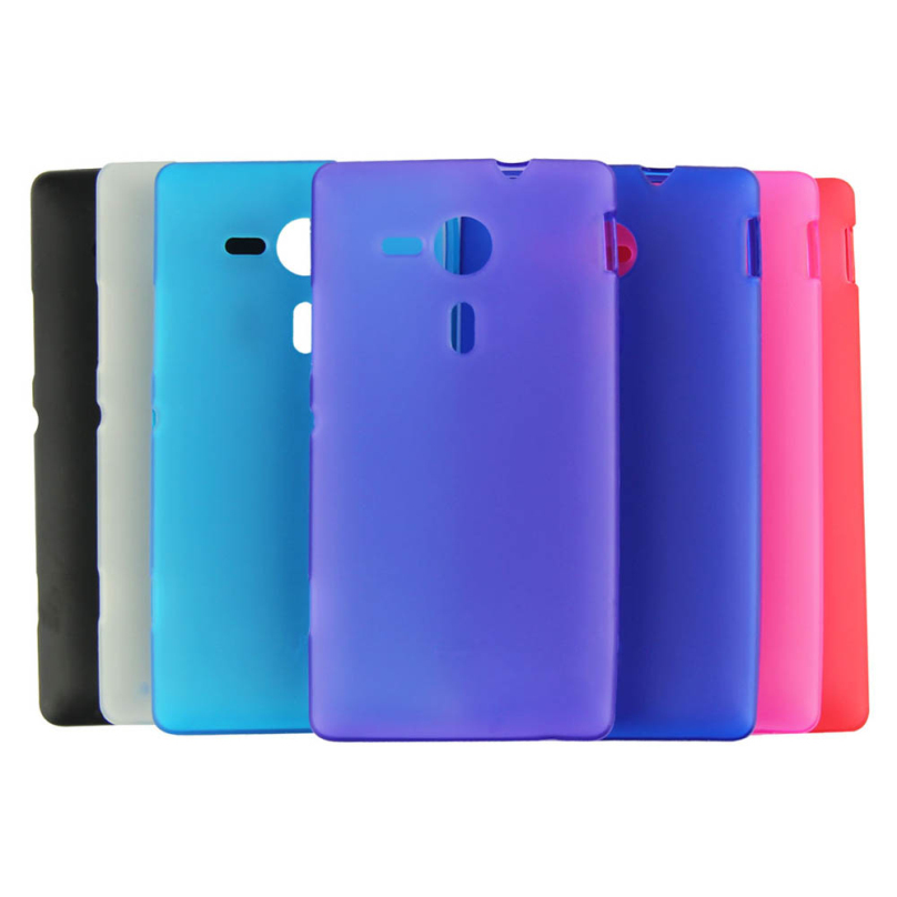 TPU Silicone Gel Case Cover For Sony Xperia SP M35h M35c C5302 C5303 C5306 Phone Cases Top Quality(China (Mainland))