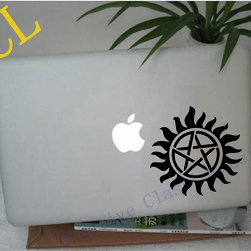 """Free Shipping cool Supernatural sticker - Anti-possession Tattoo vinyl decal for auto car / Motorcycle / laptop 13"""" 15"""" 17""""(China (Mainland))"""