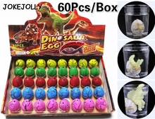 Buy 60pcs/box Magic Water Hatching Inflation Growing Dinosaur Eggs Toy Kids Gift Child Educational Novelty Gag Toys GYH for $11.98 in AliExpress store