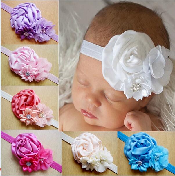 Цветочек своими руками на повязку на голову