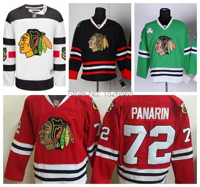 Гаджет  2016 Chicago Blackhawks Jersey Panarin Stadium Series White Red Black Artemi Panarin Jersey Authentic Hockey Jerseys Cheap None Спорт и развлечения
