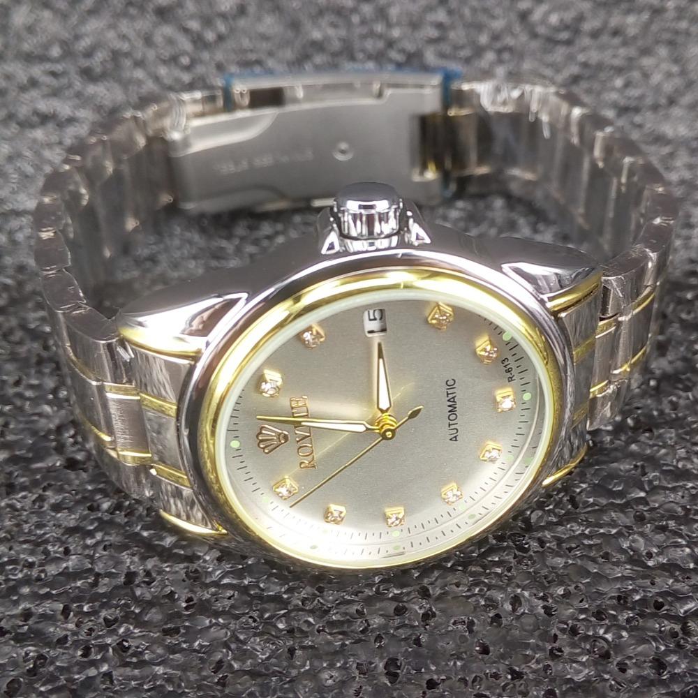Men  Winding Automatic Mechanical Watches Luxury Brand Full Steel Skeleton Men Hours Waterproof Wrist Watch For Men COLCK reloj<br><br>Aliexpress