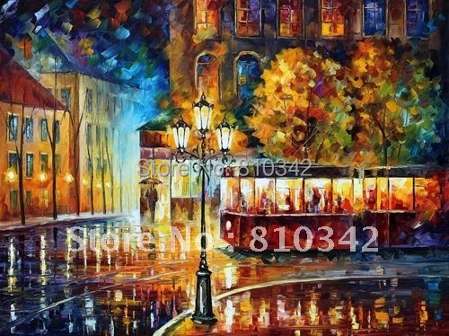 Reproduction paintings,home decorate,wall art,in a park,reproduction,scenery oil painting KP340(China (Mainland))