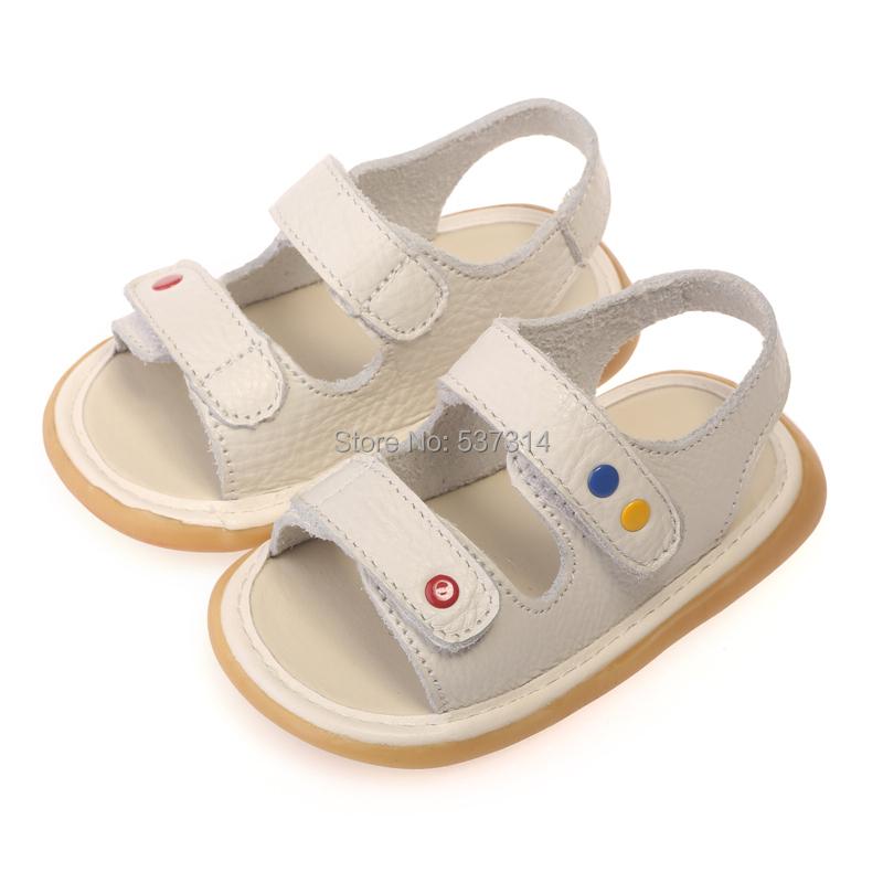 Freee ручной работы 0 - 2 года младенцы натуральная кожа обувь, детские сандалии мягкий подошва дети малыша младенцы сандалии