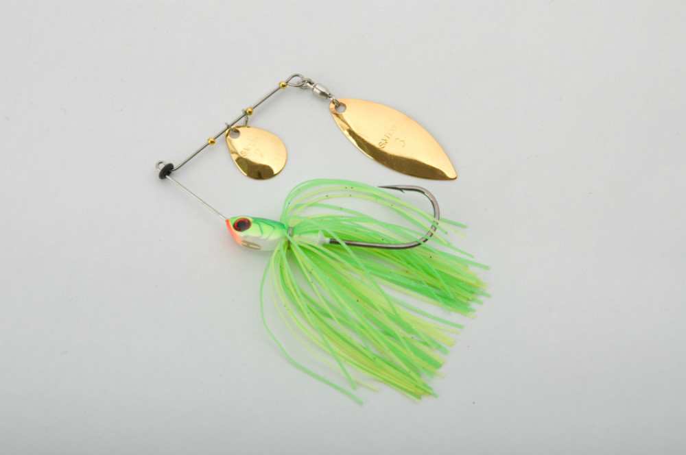high quality spinner bait pike fishing lure hard bait kits grubs picture hooks metal jig fishing lure tackle SB31(China (Mainland))