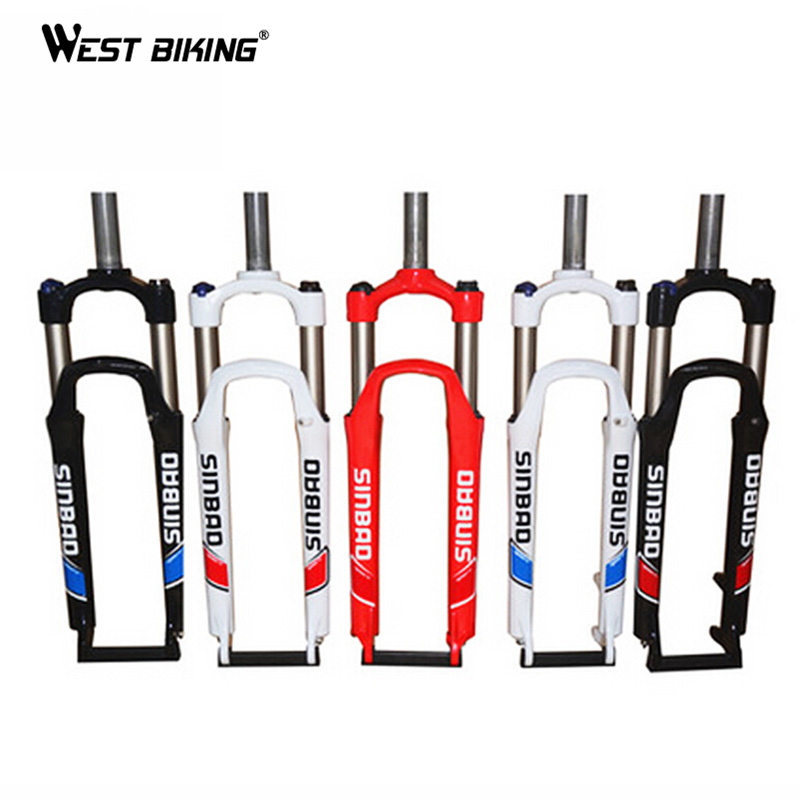 WEST BIKING Ultralight 26inch Mountain Bike Fork 28.6mm Diameter Bicycle Accessories Parts Bicicleta Ciclismo Cycling Bike Fork(China (Mainland))