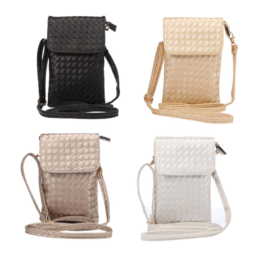 2015 New Arrival Fashion Messenger Bags Women Multi-layer Mini Cell Phone Bag Shoulder Bag PU Leather Coin Purse Wallet(China (Mainland))