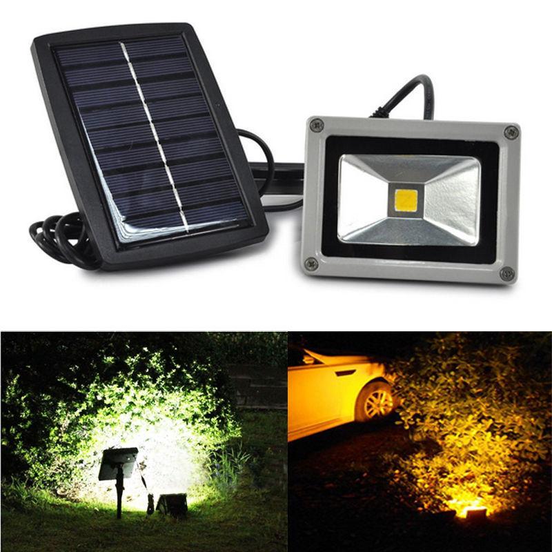 Здесь можно купить  10W Solar LED Flood Light for Garden Spotlight 12V Solar Waterproof Outdoor floodlight Security path Landscape light Wall Lamp  Свет и освещение