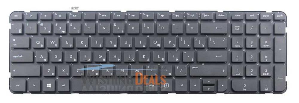 Клавиатура для ноутбука hp pavilion g6 купить алиэкспресс