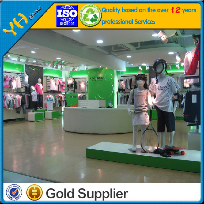 Retail clothing store furniture