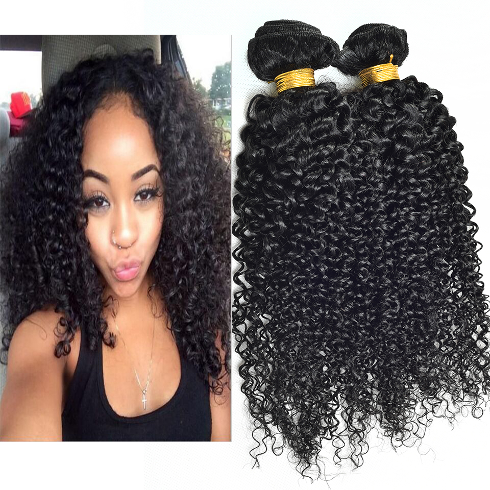 Rosa hair products eurasian curly hair 4pcs /lot kinky curly 10-30inch virgin human hair extension 100%remy human hair  weave