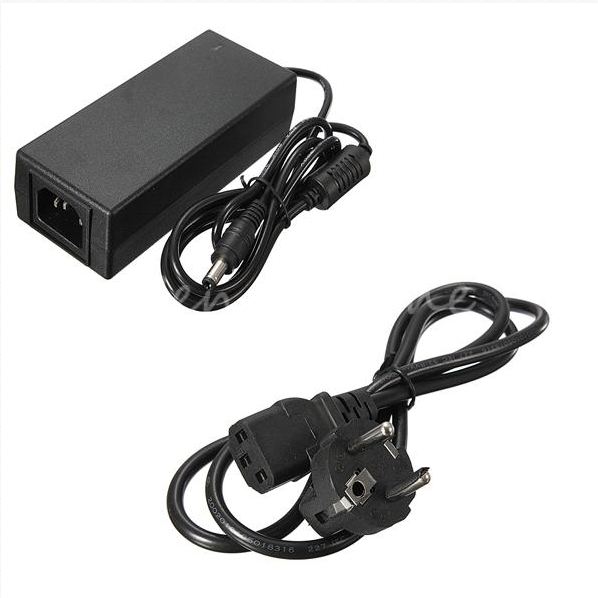 New AC Adapter Fordc 12V 5A 60W Power Supply Charger+Cord Cable EU Plug for 5050 3528 SMD LED Light or LCD Monitor CCTV(China (Mainland))